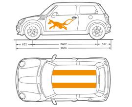 Fahrzeugbeschriftung Oensingen Beschrifter