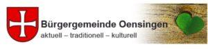 Buergergemeinde Oensingen Logo